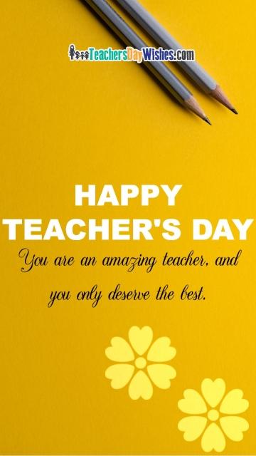 Happy Teachers Day Sayings in English