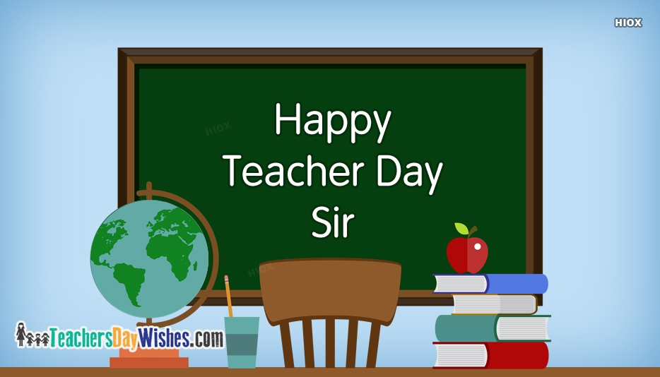 Happy Teacher Day Sir Images