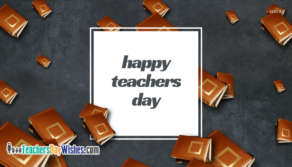 Happy Teachers Day 5th October