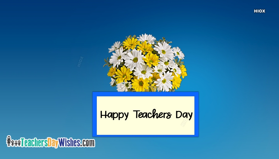 Happy Teachers Day Background
