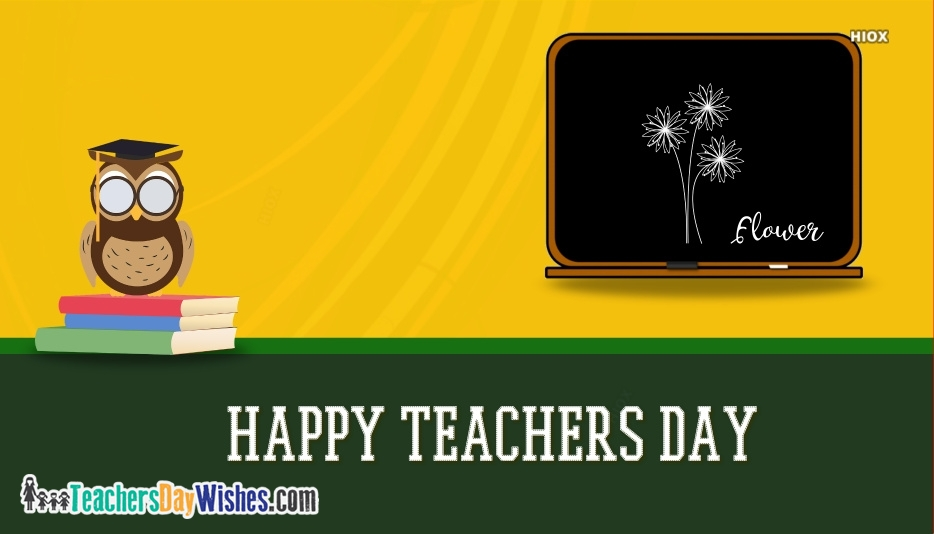 Happy Teachers Day Card Printable