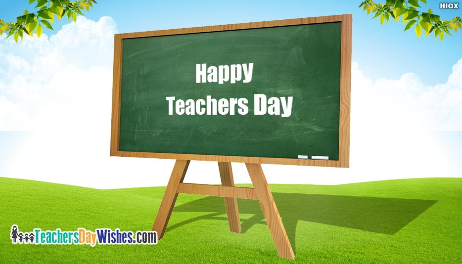 Happy Teachers Day Greeting Card - Happy Teachers Day Wishes Greeting Cards