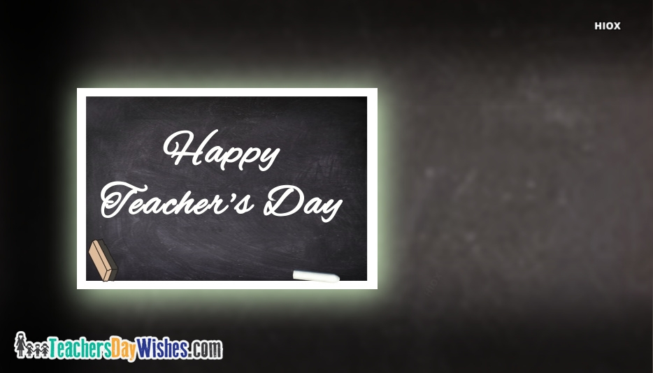 Happy Teachers Day Greeting Image