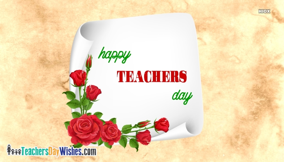 Happy Teachers Day Hd Image