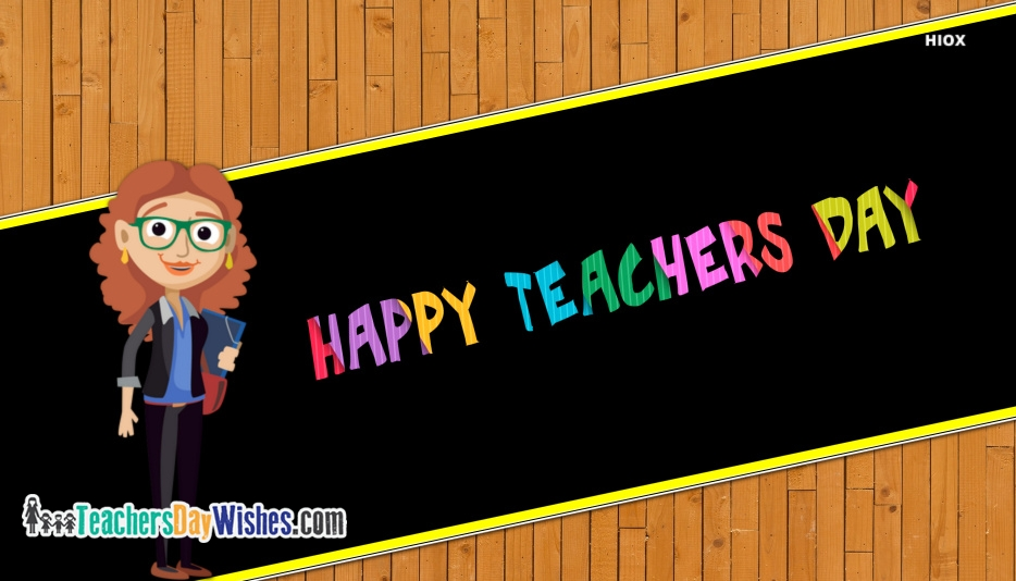 Happy Teachers Day Hd Wallpaper