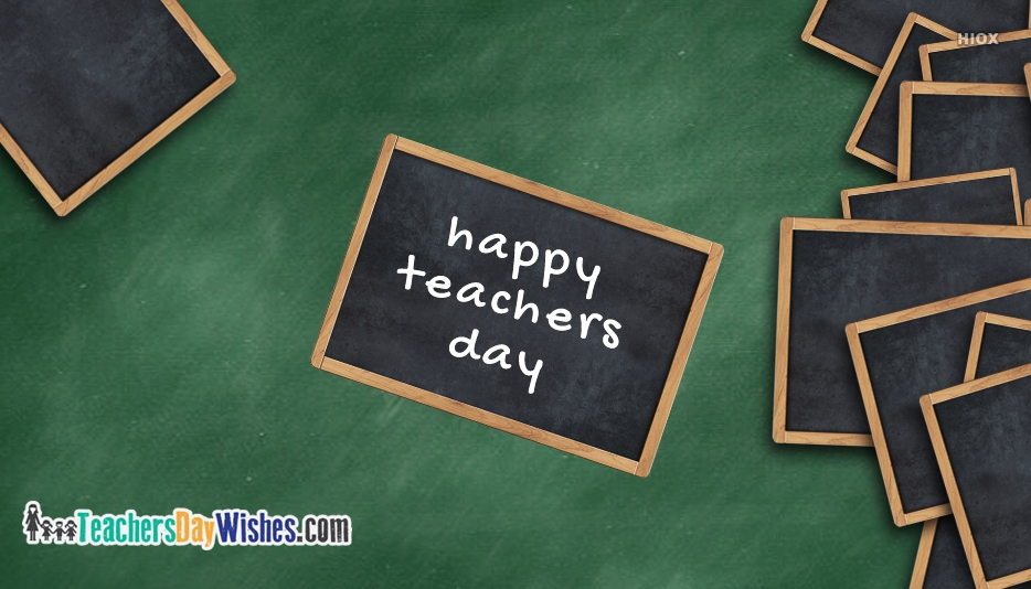 Happy Teachers Day Students Images