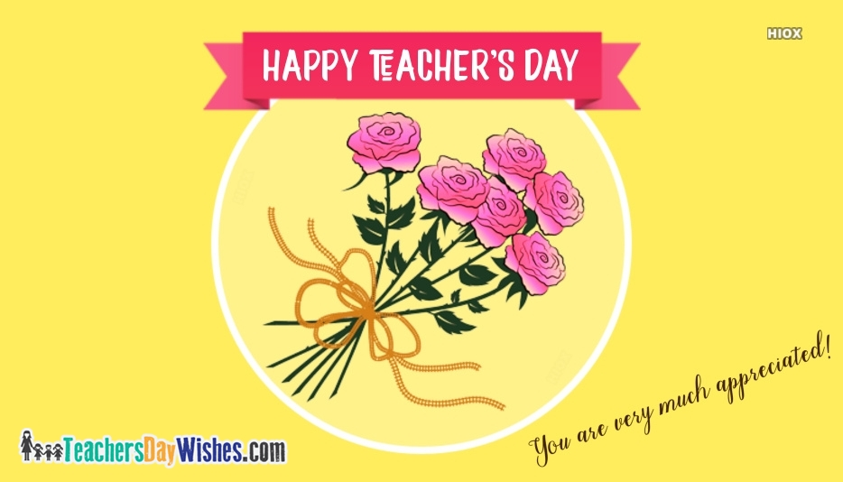 Happy Teachers Day Note