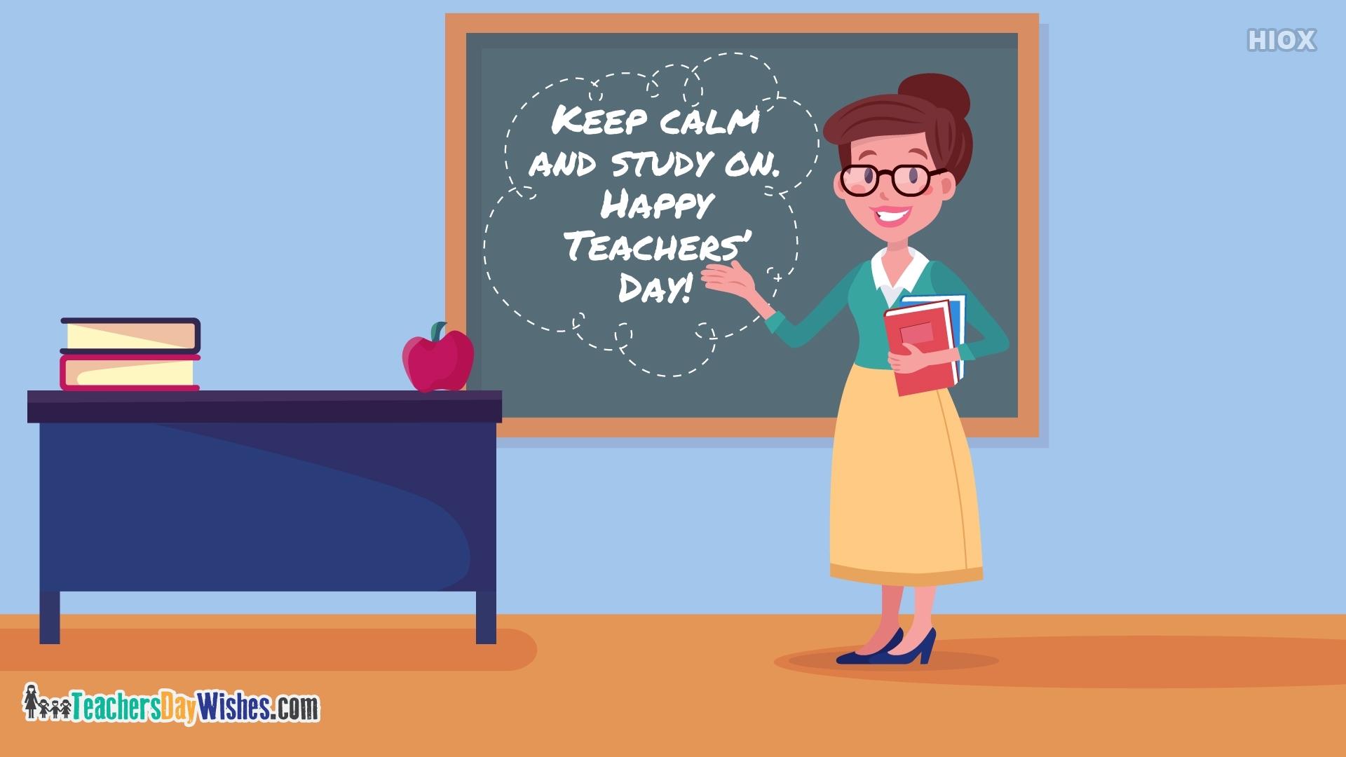 Happy Teachers Day Poster Design