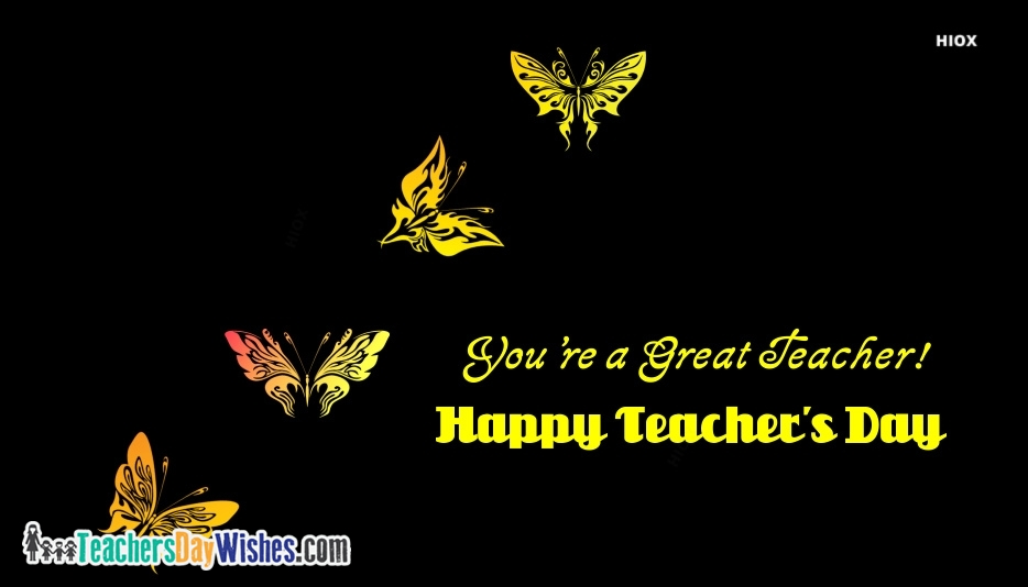 Happy Teachers Day Quote In English