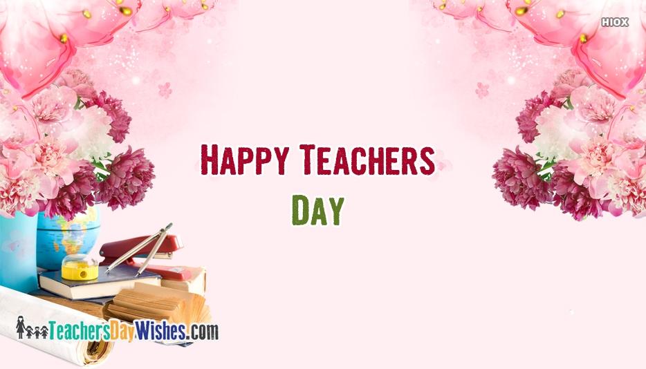 Happy Teachers Day Sister