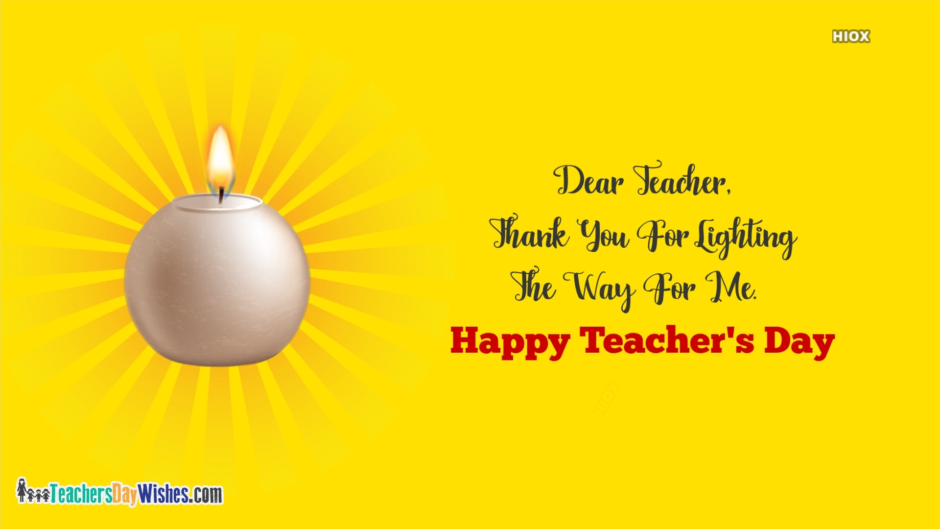Happy Teachers Day Thank You Quotes