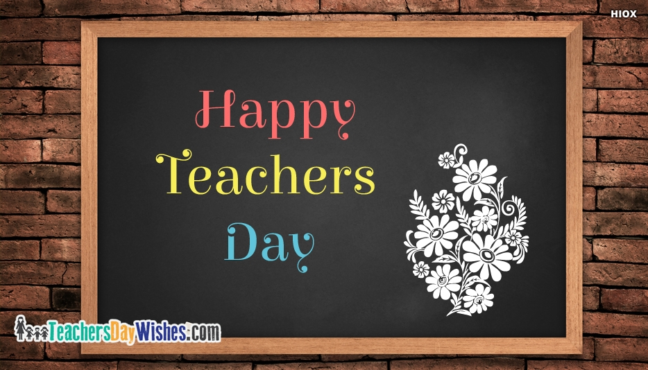Happy Teachers Day Wallpaper - Happy Teachers Day Ecards