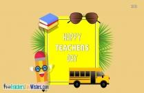 Beautiful Happy Teachers Day