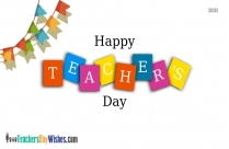 Happy Teachers Day Easy Drawing