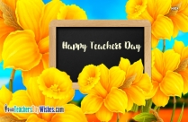 Happy Teachers Day Status