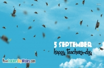Happy Teachers Day 5 September