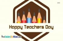 Happy Teachers Day Parent