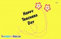 Happy Teachers Day Border