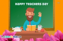 Happy Teachers Day Boy