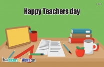 Happy Teachers Day Cake Image