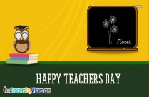 Happy Teachers Day Writing