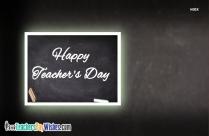 Happy Teachers Day Greeting Image
