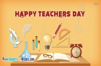 Happy Teachers Day Wishes Quotes In English