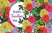 Happy Teachers Day Printable
