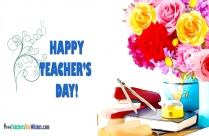 Happy Teachers Day Sticker