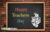 Happy Teachers Day Wallpaper