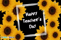 Happy Teachers Day Greetings Clipart