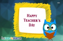 Happy Teachers Day Wording