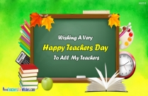 Happy Teachers Day Gift Card