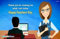 More Than A Teacher. You Are A Great Mentor. Happy Teachers Day.